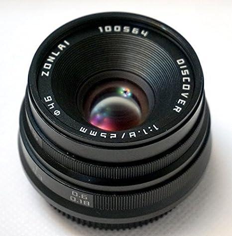 Hengyijia 25 Mm F1 8 Schwarz Entdecken Sie Manueller Kamera