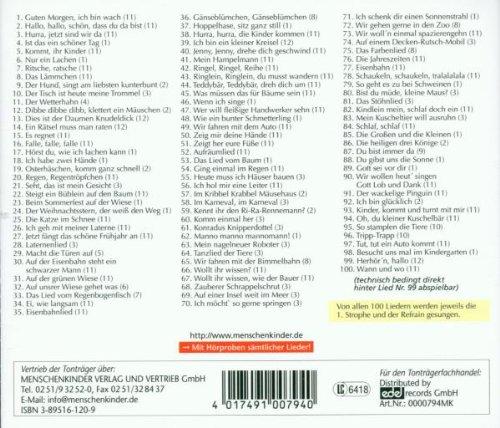 Das Singemaeuse Liederbuc Amazoncom Music