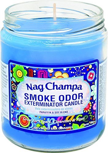 Smoke Odor Exterminator 13 Oz Jar Candle Nag Champa by Tobacco Outlet Products ()