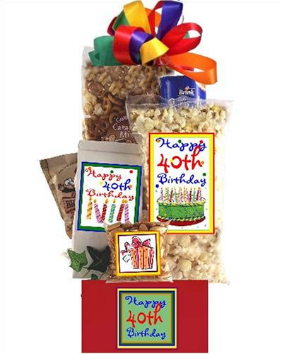 (40th Birthday Gift Basket Party)