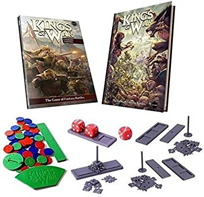 Mantic Games MGKW02 Kings of War Deluxe - Juego de Mesa: Amazon.es: Juguetes y juegos