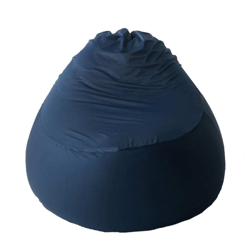 ASDF Bean Bag Type de Poire de siège de siège de Type de Poire Paresseux Sofa d'enfants extérieur Stable Stable approprié aux Jeux BBB (Couleur   bleu, Taille   75×75×65cm) bleu 75×75×65cm