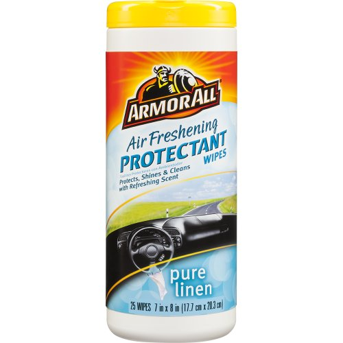 Armor All Air Freshening Protectant Wipes, Pure Linen, 25 ct., Case of 6