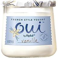 Oui by Yoplait French Style Yogurt, Non-GMO, Gluten Free Yogurt, Vanilla, 5.0 oz
