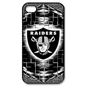 Oakland Raiders Logo Apple iPhone 6 Plus (5.5 inch) Case DIY Designer Hard Shell Wood Look Cover Case 199542