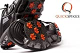 Golf Slip On Shoes Spikes - Quick Spikes - Turn Any Shoe into a Golf Shoe! Great For Travel, Kids Learning to Golf, and as a Gift for your Loved One! (Small/Medium)
