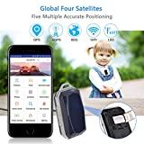certainPL Gemstone Mini Personal and Vehicle GPS Tracker with SOS Button, Waterproof GPS