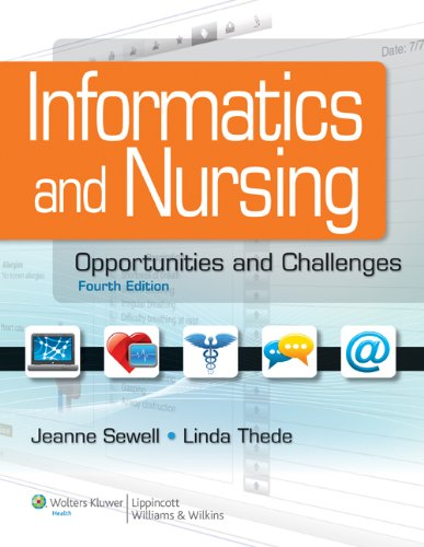Informatics and Nursing: Competencies and Applications Pdf