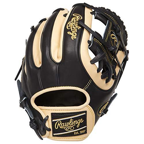 Preferred Pro Baseball Glove - Rawlings Heart of The Hide Baseball Glove, 11.25 inch, Pro-I Web