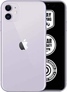 Apple iPhone 11, 256GB, Unlocked - Purple (Renewed)