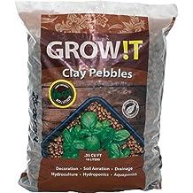 GROW!T GMC10L Horticultural Clay Pebbles 10L 4mm-16mm