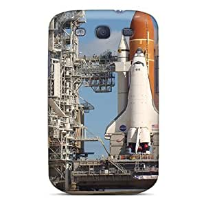 Evanhappy42 Shockproof Scratcheproof Space Shuttle Hard Cases Covers For Galaxy S3