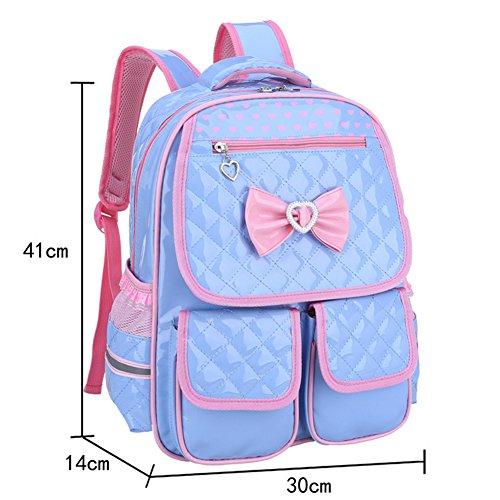Urmiss Cute Bow Bowknot Backpack Lovely Heart Rucksack Toy Bag Zoo School Travel Bags for Baby Boys Girls Kids Toddler