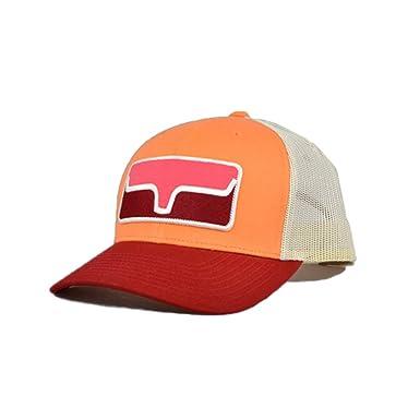 b7e46c17443e3 Kimes Ranch Blocked Patch Trucker Hat (Pink) at Amazon Men's ...