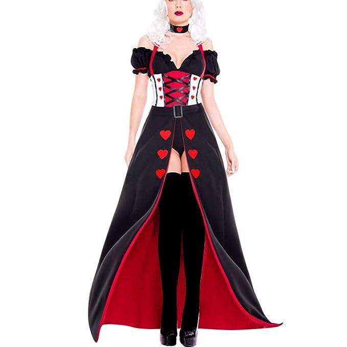 OPAKY Vestidos De Fiesta Gótico Mujeres Vestidos Medieval Vestidos ...