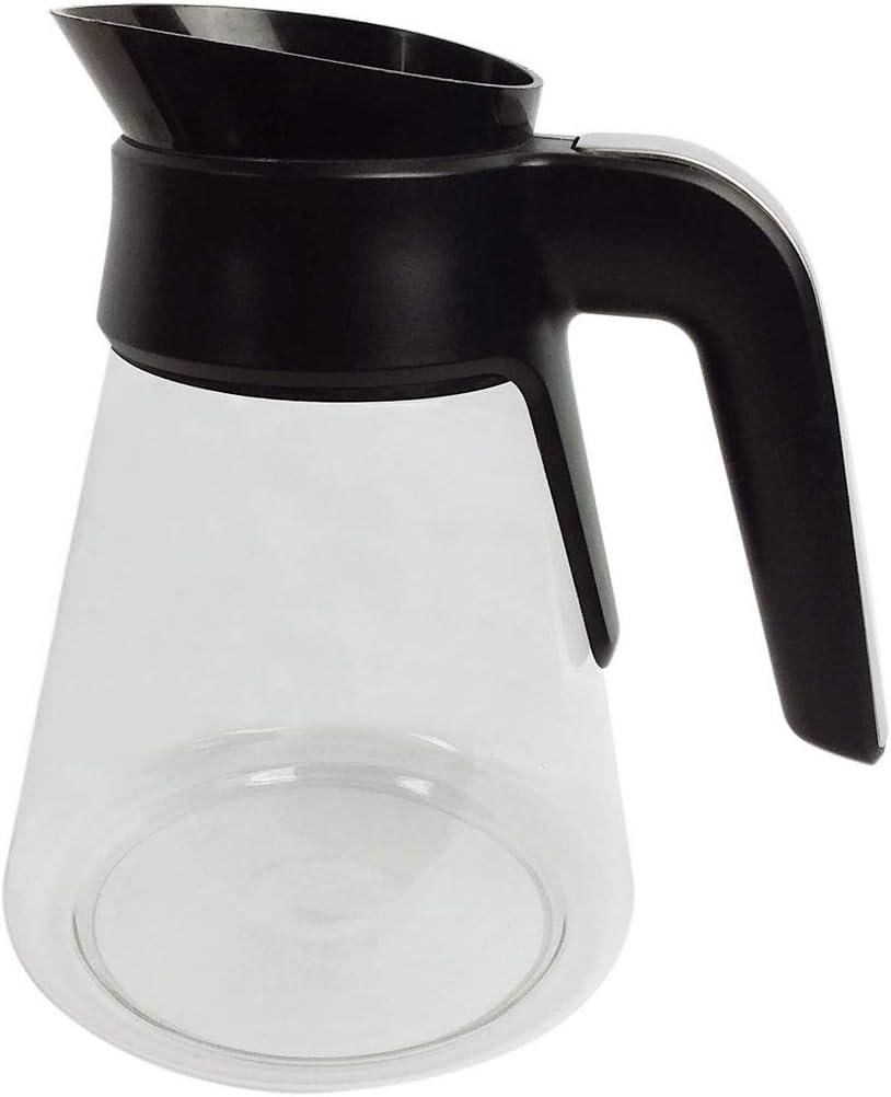 43 Oz 100KNK80 Ninja Coffee Bar Glass Carafe with Lid for CF020 CF021 CF080 CF080A CF080C CF080CCO CF080CO CF080Q CF080REF CF080W CF080Z CF082