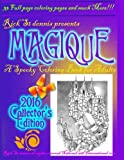 MAGIQUE - a spooky adult coloring book: The Collector's Edition