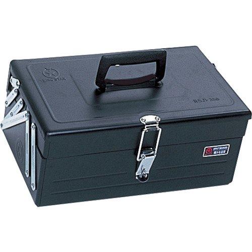 リングスター 2段式ボックス スチール製 ブラック