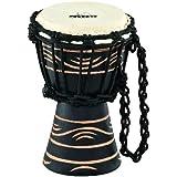 "Nino Percussion Nino-ADJ4-XXS African Style ""Moon Rhythm Series"" Rope Tuned Djembe, Size XX-Small"