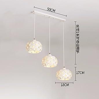 XHOPOS HOME Lampe de Plafond Suspension Minimaliste moderne fer à ...