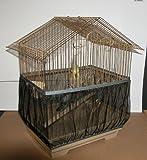 Sheer Guard Bird Cage Skirt – Super Large Size (Black)