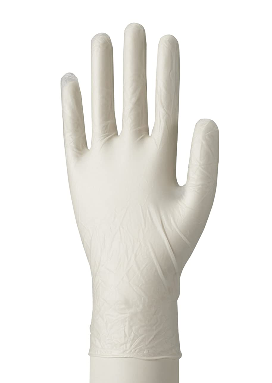 見る人パワーセル雇用やわらか手袋 ビニール素材 Lサイズ 100枚入