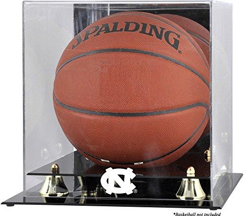 (Sports Memorabilia North Carolina Tar Heels Golden Classic (2015-Present Logo) Basketball Display Case with Mirror Back)