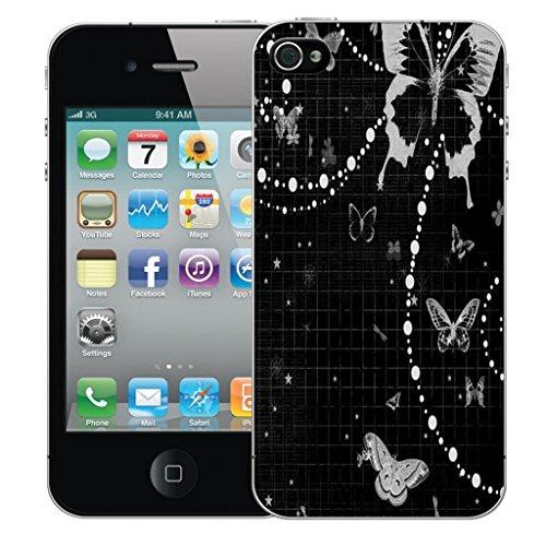 Mobile Case Mate iPhone 5 5s clip on Dur Coque couverture case cover Pare-chocs - mystique Motif avec Stylet