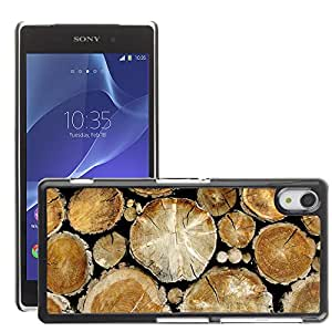 Super Stellar Slim PC Hard Case Cover Skin Armor Shell Protection // M00049733 tree trunks creative aero // Sony Xperia Z2