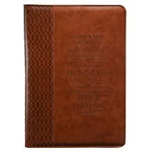 Jeremiah 29:11 Two-tone Legal Size Zippered Portfolio by Christian Art Gifts