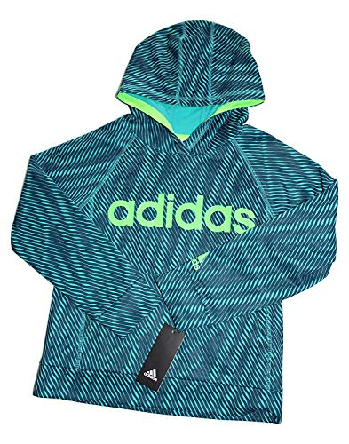 Adidas All Star Shirt - adidas Boys 8-20 Helix Vibe Pullover Hoodie (TURQUASE, Large)