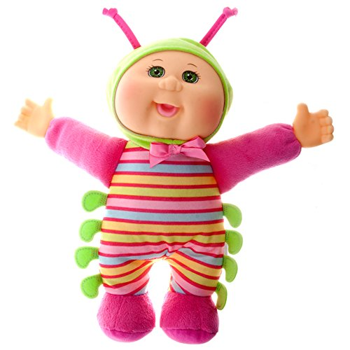 Cabbage Patch Kids 9 Inch Collectible Garden Party Softbody Cuties Doll, Callie Caterpillar by Cabbage Patch Kids