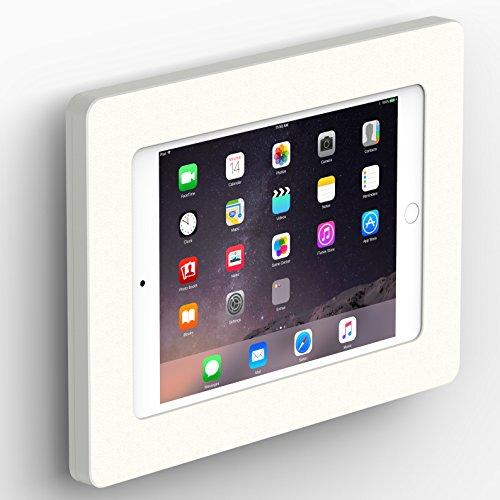 VidaMount White Enclosure and Fixed VESA Slim Wall Mount [Bundle] Compatible with iPad Mini 4 & 5 ()