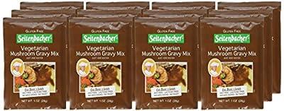 Seitenbacher Mushroom Gravy, 1.06-Ounce Pouches (Pack of 12)