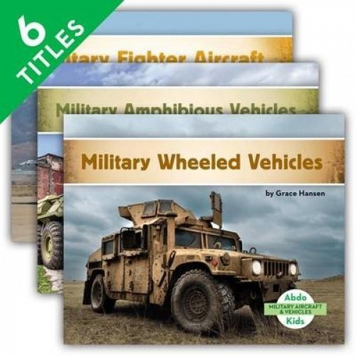 Military Aircraft & Vehicles (Set)