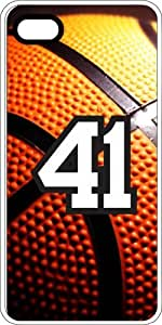 Basketball Sports Fan Player Number 39 White Rubber Decorative iphone 6 4.7 Case