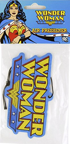 DC+Comics Products : Enjoy It DC Comics Wonder Woman Logo Air Freshener, Orchid Scented