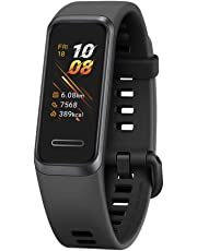 "HUAWEI Band 4 Smart Band, Fitness Activities Tracker with 0.96"" Color Screen, 24/7 Continuous Heart Rate Monitor, Sleep Tracking, 5ATM Waterproof, up to 6 Days of Usage Time, Graphite Black"
