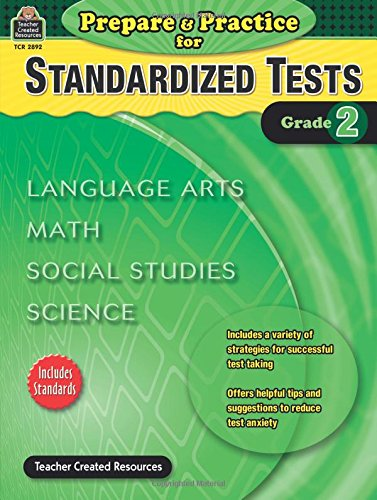 Prepare & Practice for Standardized Tests Grade 2