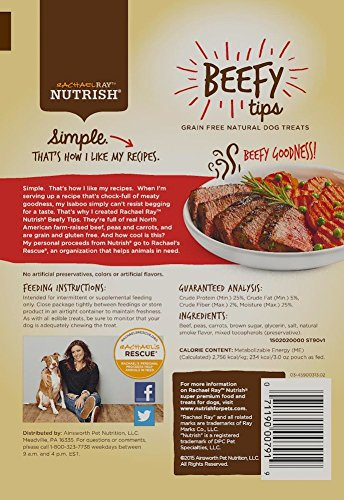 Rachael-Ray-Nutrish-Grain-Free-Beefy-Tips-Dog-Treats-Beef-Mixed-Veggies-Recipe-Zero-Grain-3-oz