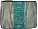 Beirn Ikat Cobra Cosmetic Bag (Aqua)