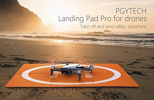 PGYTECH Drone Landing Pad,Drones Quadcopter Parts Drone Accessories Landing Gear 50cm x 50cm/20in x 20in Waterproof Compatible with DJI Mavic 2 Pro/Mavic 2 Zoom/Mavic Pro/Mavic AirPhantom 2/3/4/Pro