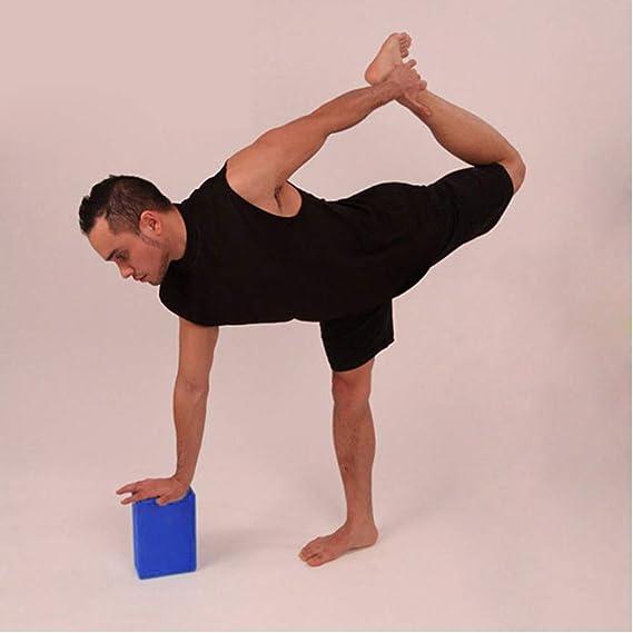 Bastiansports Yoga Block aus umweltfreundlichen Eva-Schaum unterst/ützt Posen und Haltungen geeignet f/ür Anf/änger und Fortgeschrittene