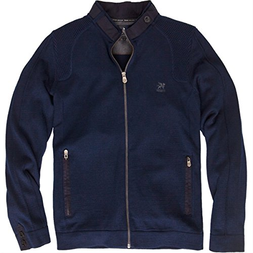 Vanguard dunkelblaue slim fit jacke