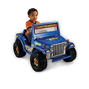 Fisher-Price Power Wheels Hot Wheels Jeep