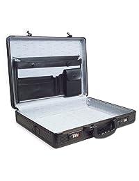 RoadPro SPC-941G Black 17.5-Inch x 4-Inch x 13-Inch Aluminum Briefcase