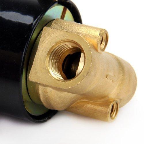 Air y aplicaciones di/ésel HOSL DC 12/V 1//4/pulgadas electrico solenoide v/álvula para aire agua//de repuesto lat/ón v/álvula para uso con gasoductos en el agua