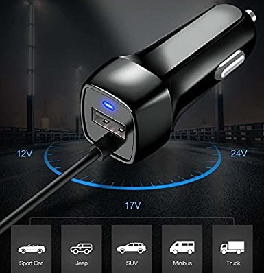 for Samsung Galaxy S9 / S9 Plus Car Charger, WwWSuppliers Black Type-C Car Charger for Samsung Galaxy S9 & S9 Plus Cell Phones Plastic Led USB Battery ...