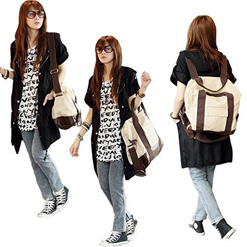 Shopping Daywork Backpack Rucksack Crossbody