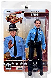 "The Dukes of Hazzard Series 3 Enos 8"" Action Figure"